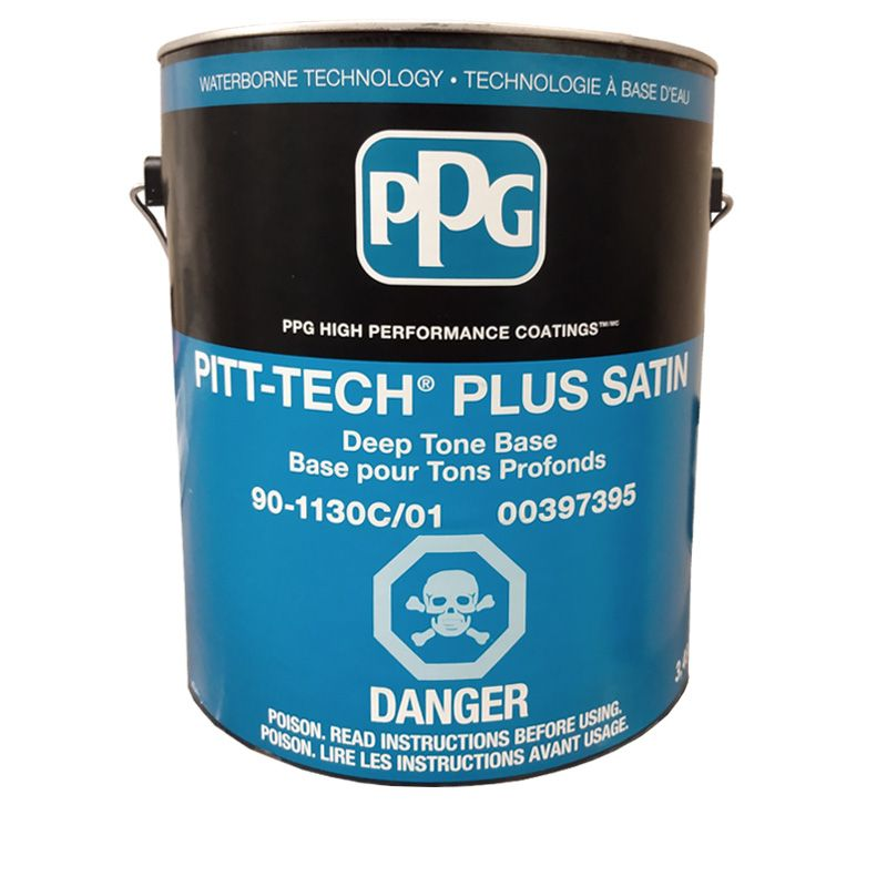 PITT-TECH PLUS DEEP-BASE SATIN FINISH 1G CAN 90-1130C/01 N.S