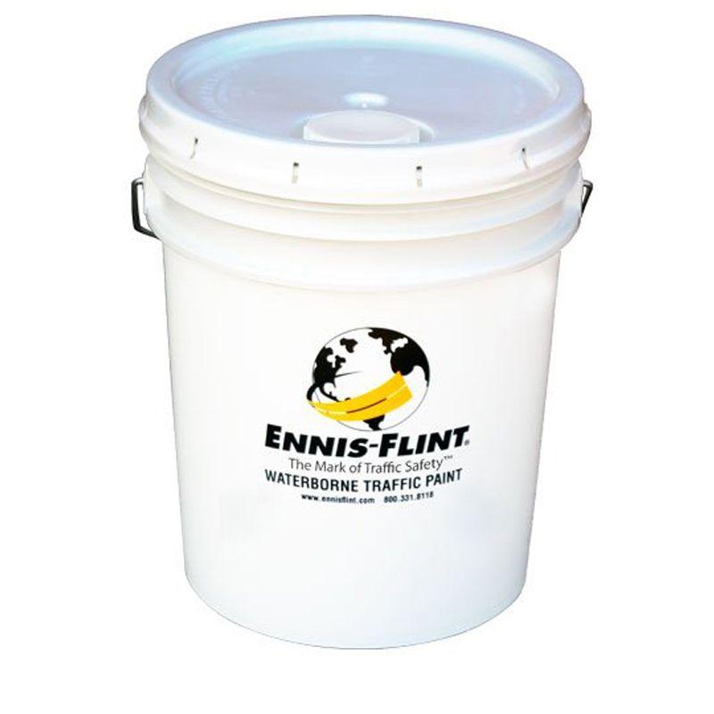 ENNIS SOLVENT TRAFFIC WHITE 18.9LT PAIL ENNX5010