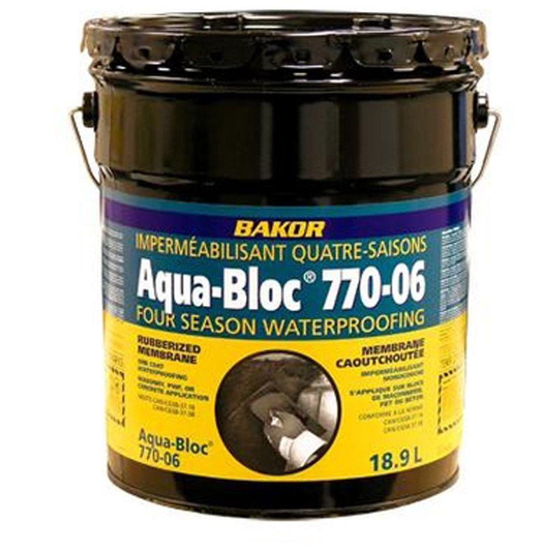 AQUA-BLOC 770-06 WATERPROOFING 18.9L PAIL