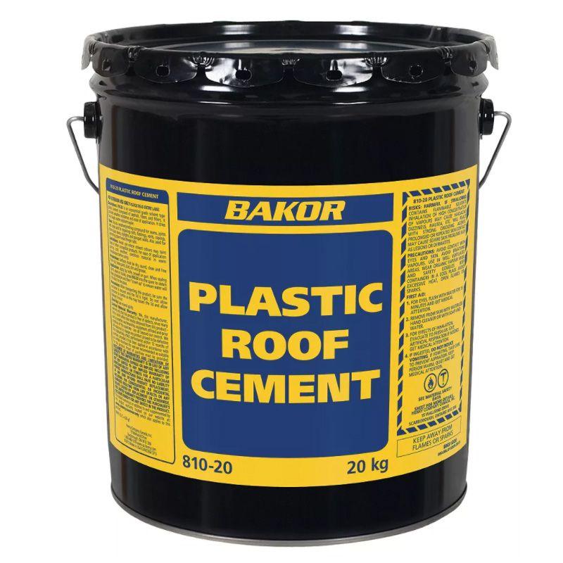 810-20 PLASTIC ROOF CEMENT 18.9L PAIL