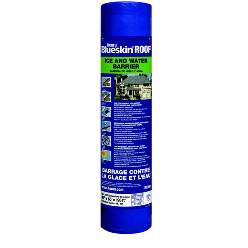 """RF200 ROOF ICE AND WATER BARRIER 36"""" X 65' ROLL"""