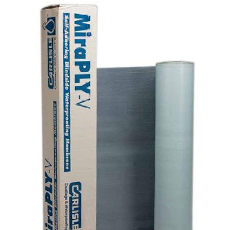 WATERPROOF BLINDSIDE VERTICAL MIRAPLY 4' X 50' 200SF/ROLL N.S