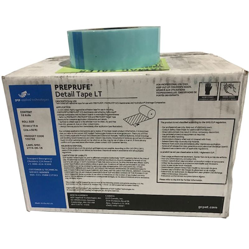 """PREPRUFE DETAIL TAPE LT #100795 (2"""" X 50' ROLL) 16/CS CALL FOR PRICING"""