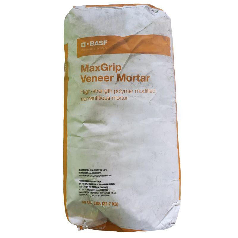 MBS SENERGY MAXGRIP VENEER MORTAR 50LB BAG