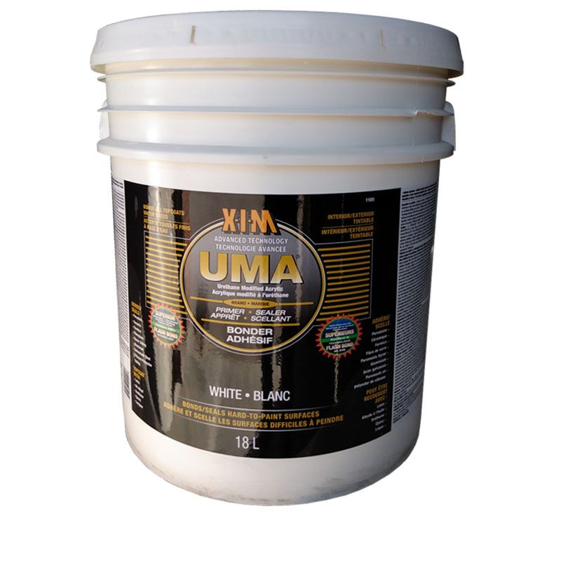 XIM UMA WHITE BONDER AND PRIMER/SEALER 5G PAIL