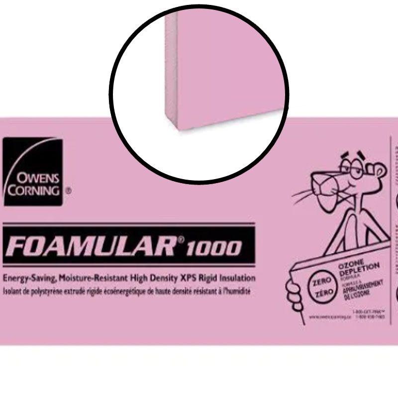 """FOAMULAR 1000 BUTT EDGE 2"""" X 24"""" X 96"""" PER SHEET"""