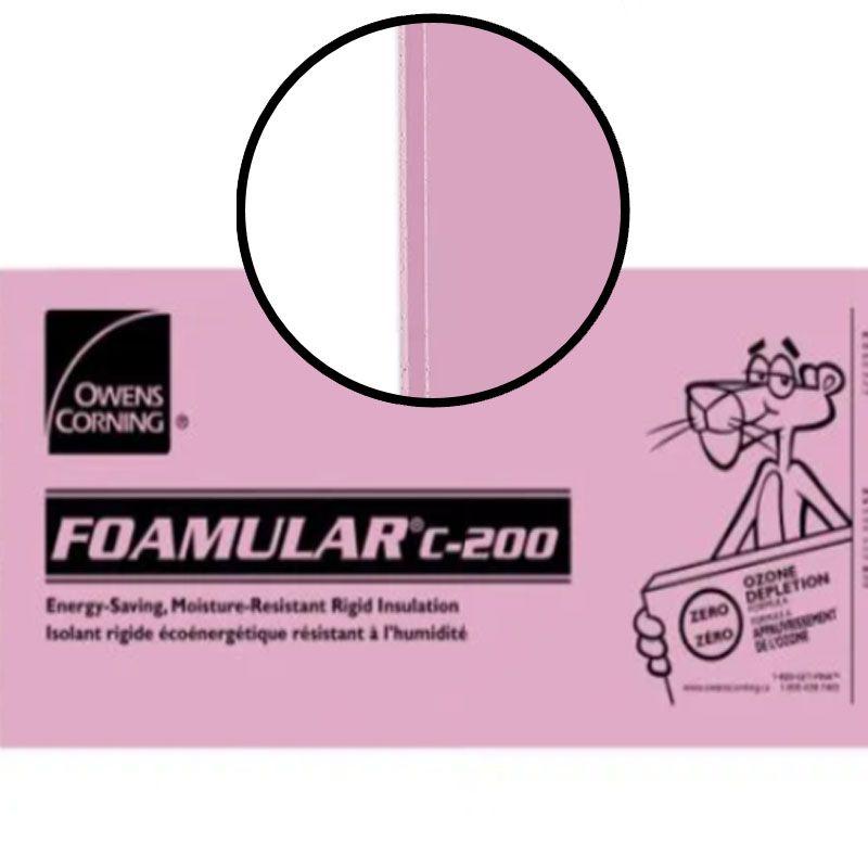 "FOAMULAR C-200 SHIPLAP 4"" X 24"" X 96"" PER SHEET"