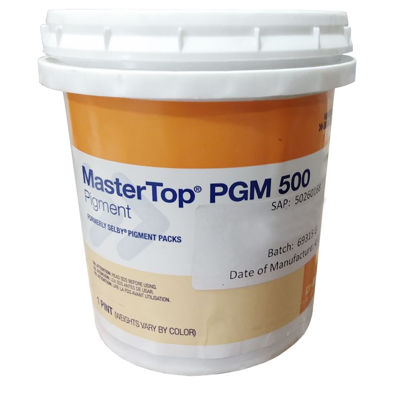 MASTERTOP PGM 500 GREY 1 PINT CAN #50260164 N.S