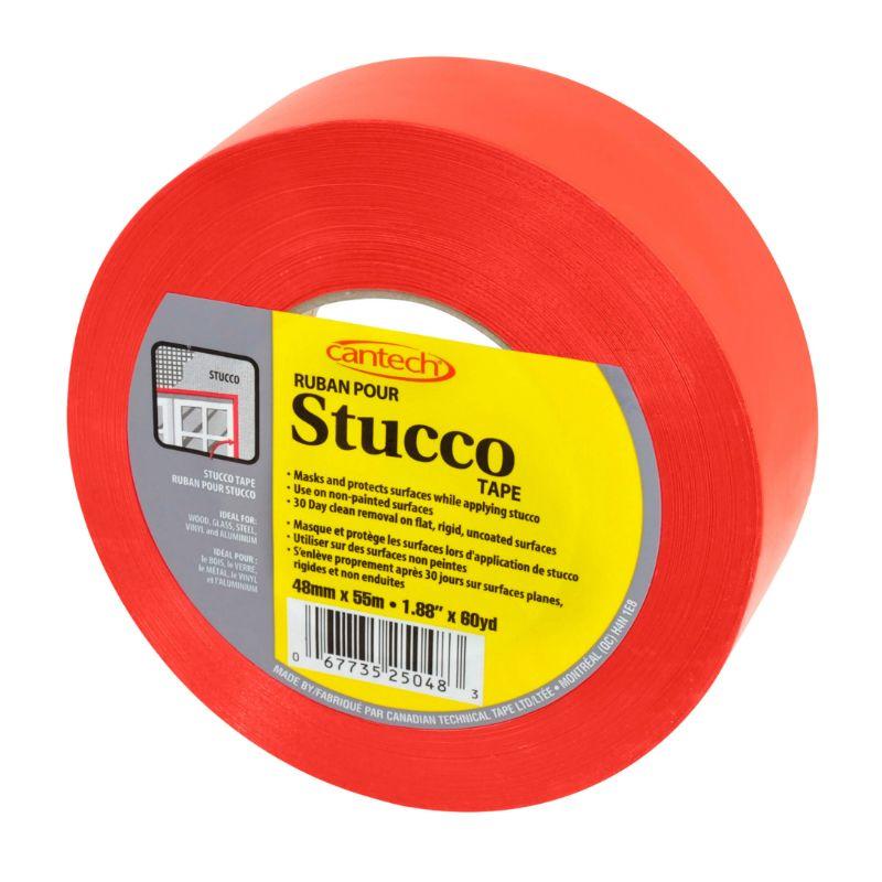 RED STUCCO TAPE (48 MM X 55 M/ROLL)