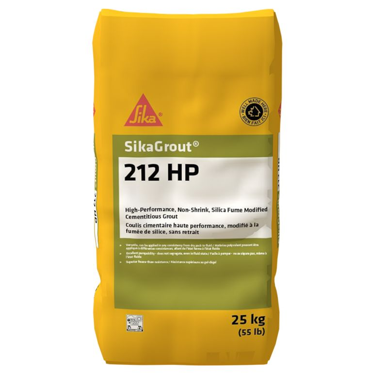 SIKAGROUT 212 HP (25KG BAG) #93298