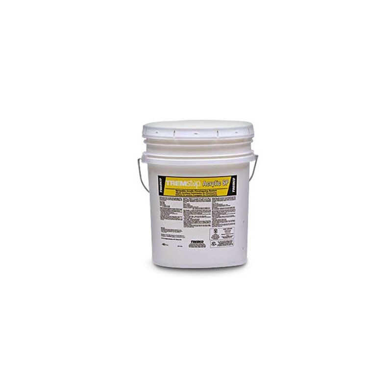 TREMSTOP ACRYLIC SP RUST RED 18.9L PAIL