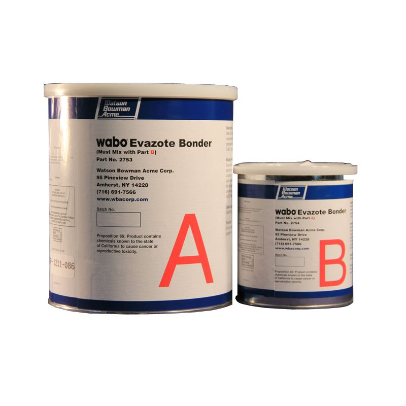 WABO EVAZOTE BONDER 1GAL KIT P/N 2753K N.S