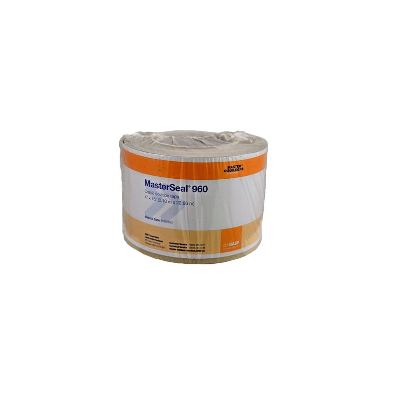 "MASTERSEAL 960 CRACK ISOLATION TAPE 4"" X 75' ROLL DISCONTINUED"
