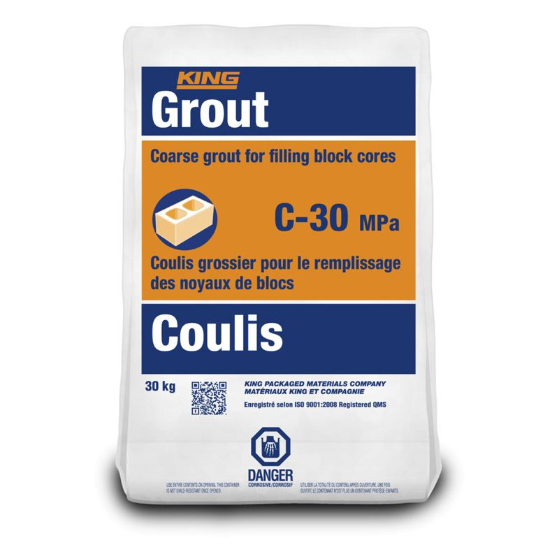 C-30 GROUT #1610006 30KG CALL FOR PRICING