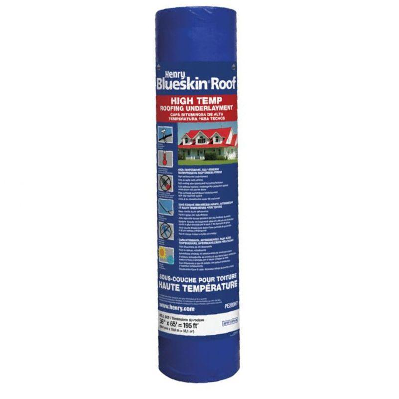 BLUESKIN PE200 HIGH TEMP ROOF UNDERLAYMENT 36'' X 65' ROLL