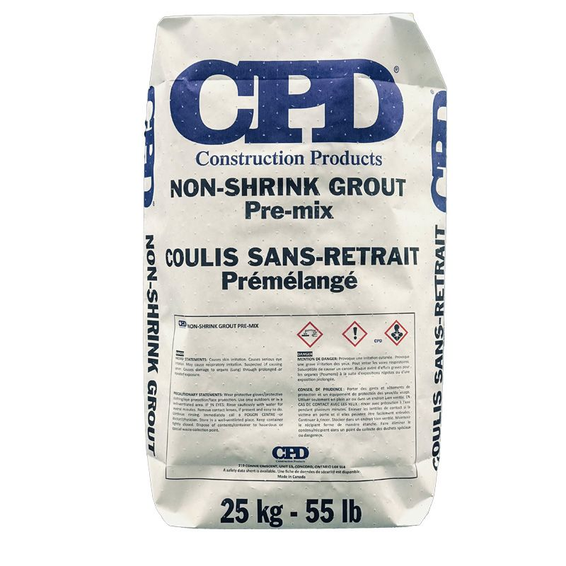 CPD NON-SHRINK GROUT PRE-MIX 25KG BAG