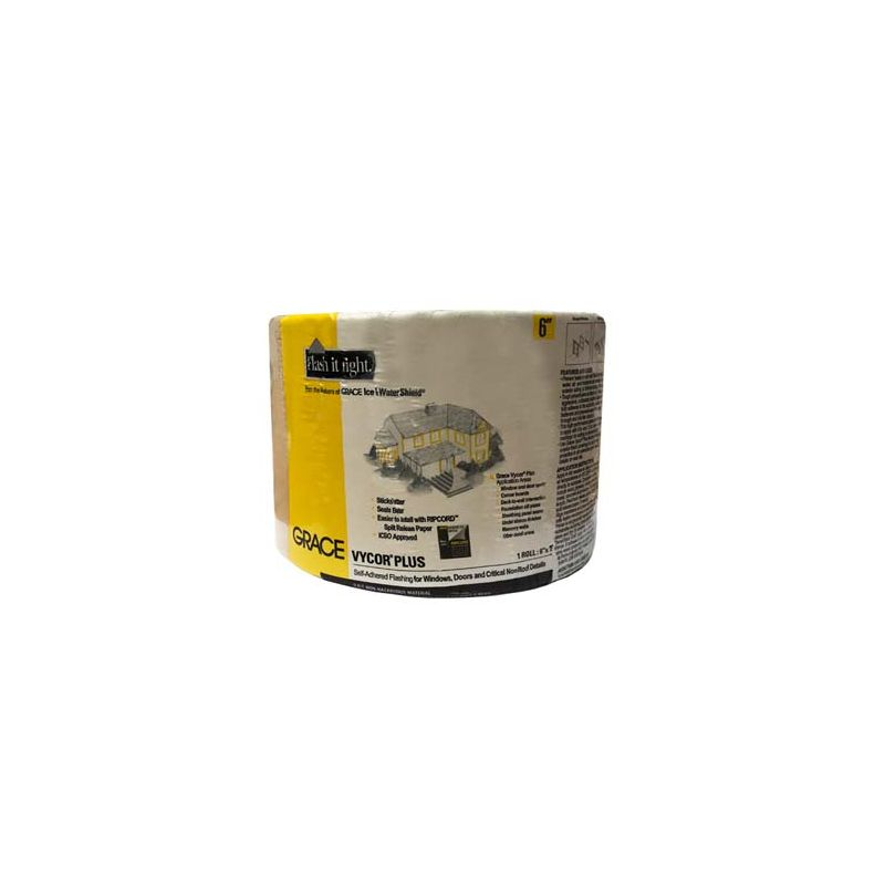 """VYCOR FLASHING PLUS 6"""" X 75' ROLL N.S CALL FOR PRICING"""