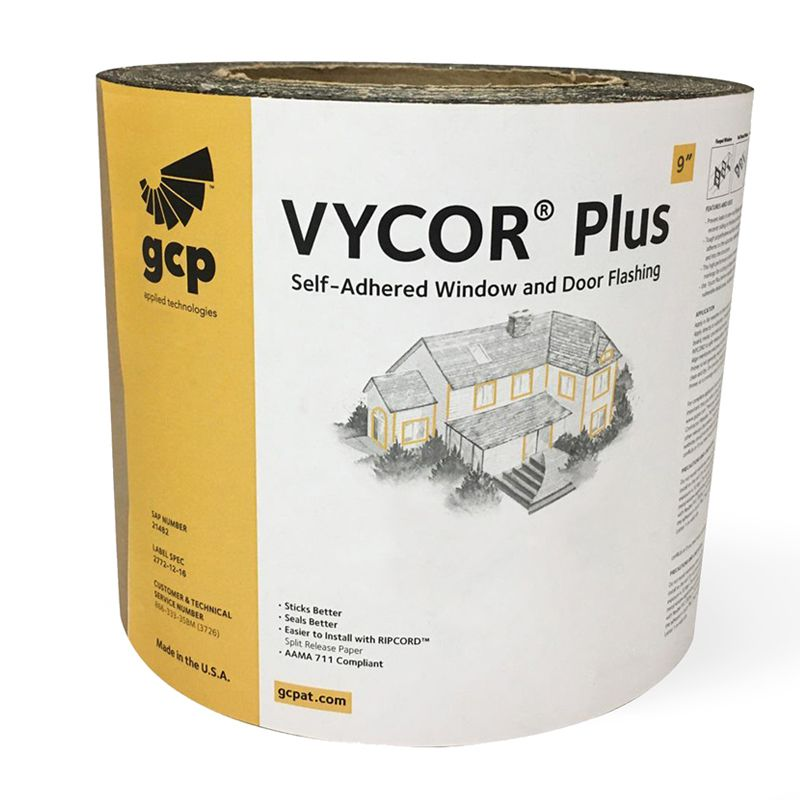 """VYCOR FLASHING PLUS 9""""X 75' ROLL N.S CALL FOR PRICING"""