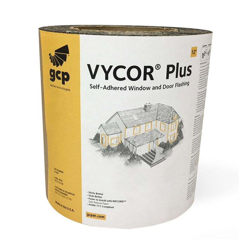 """VYCOR FLASHING PLUS 12""""X75' ROLL N.S CALL FOR PRICING"""