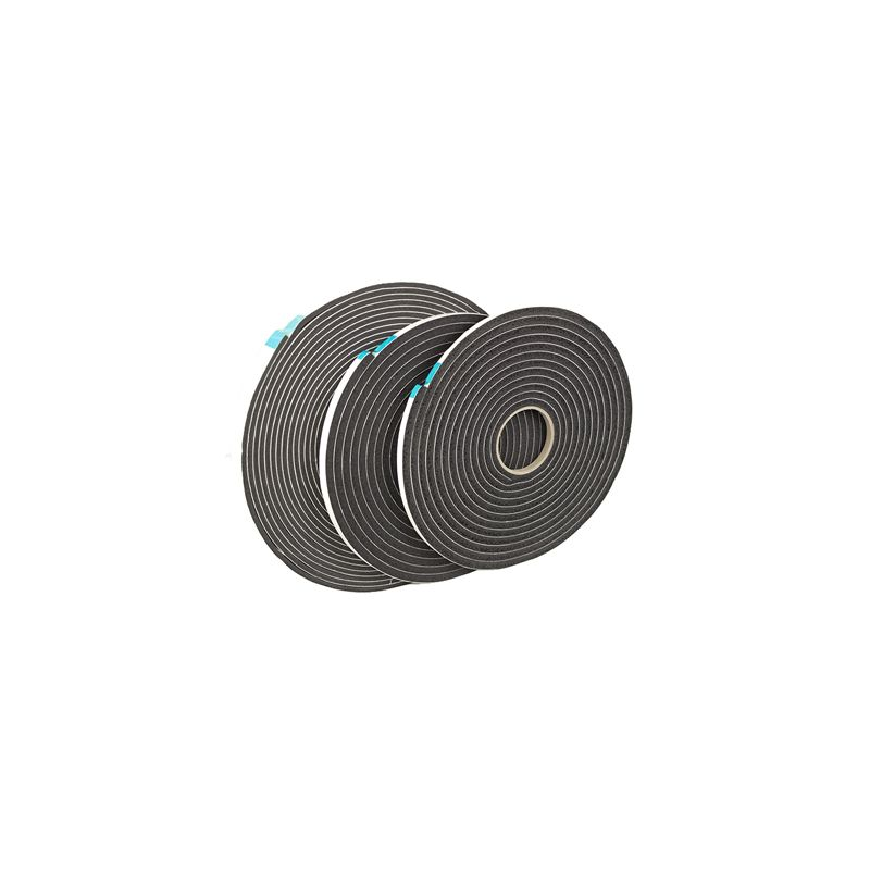 "FOAM GLAZING TAPE GT892 BLACK 1/8""TK X 3/8"" X 75' ROLL 3000'/CS N.S"