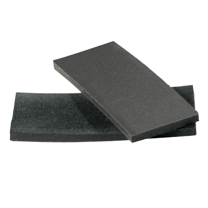 """SETTING BLOCKS SILICONE COMPATIBLE RUBBER BLK 1/8""""TK X 1"""" X 50' 400'/CS N.S"""