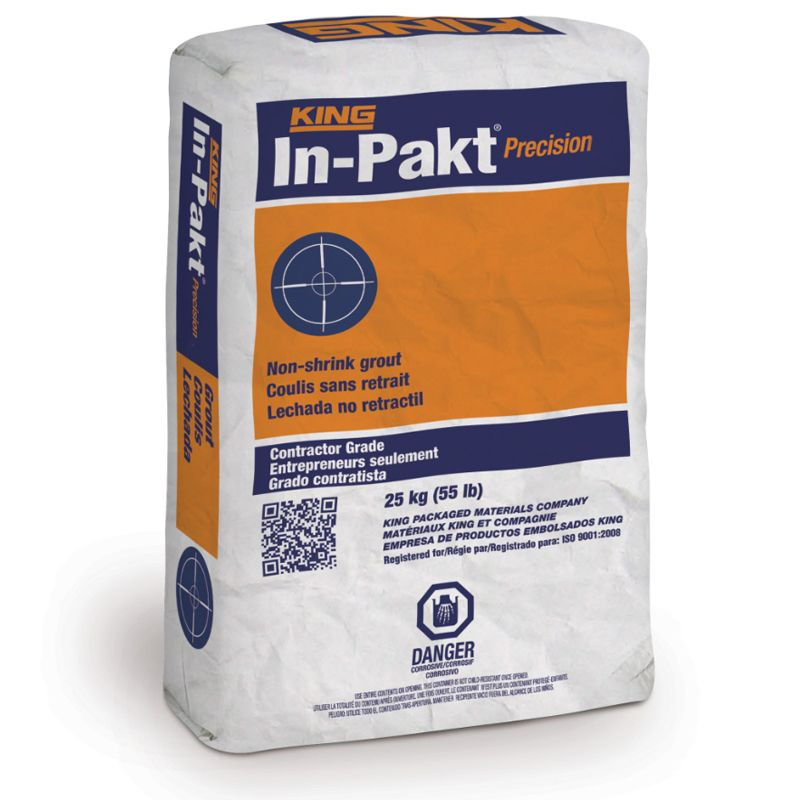 IN-PAKT PRECISION GROUT #645285 25KG BAG N.S