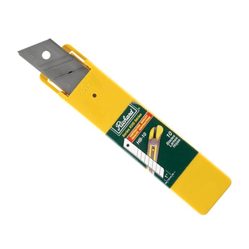 HB-10 BLADES 25MM FOR #08839 KNIFE (10 PACK)