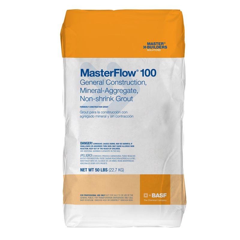 MASTERFLOW 100 50LB BAG / CONSTRUCTION GROUT