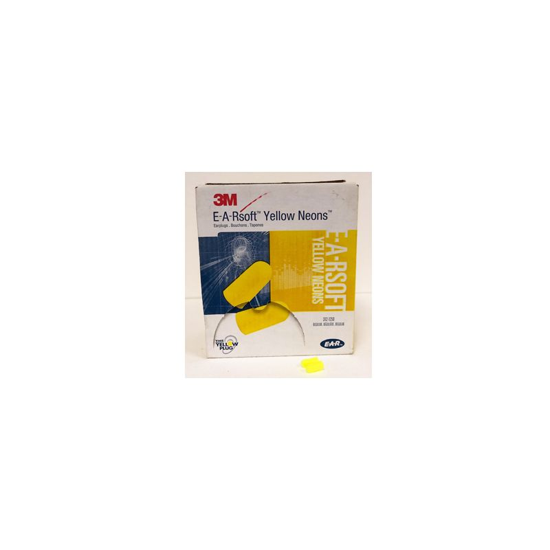 EAR SOFT YELLOW NEON UNCORDED 200/BX