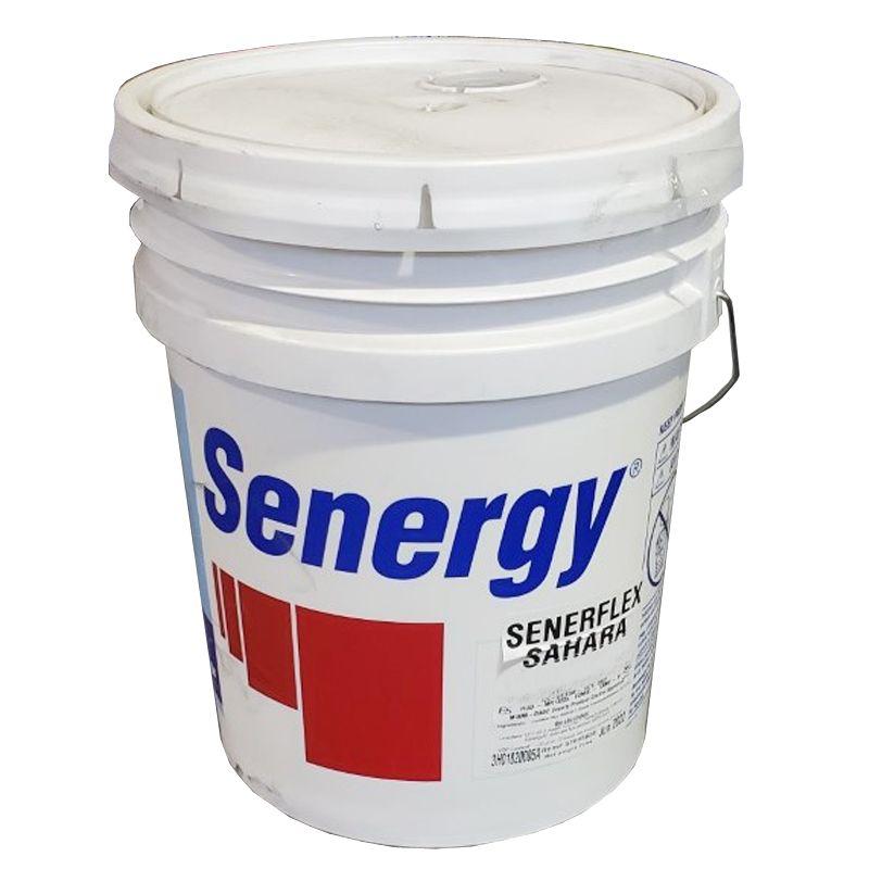 MBS SENERGY SENERFLEX SAHARA TEXTURE MAXI WHITE BASE 5G PAIL