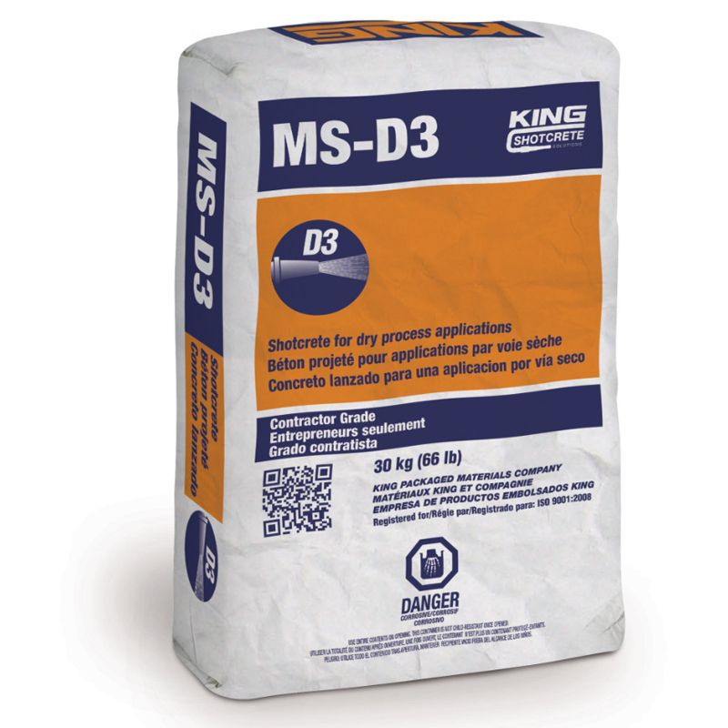 MS D3 20038 ACCELERATED SHOTCRETE CALL FOR PRICING N.S
