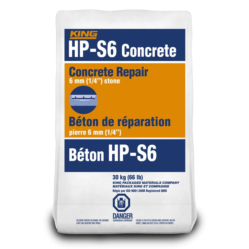 HP-S6 CONCRETE 30KG BAG #645338