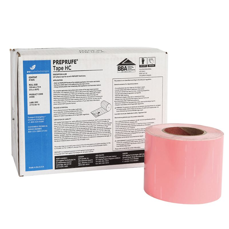 """PREPRUFE TAPE HC GRADE (4"""" x 49' ROLL) #24566   CALL FOR PRICING"""