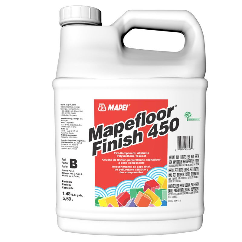 MAPEFLOOR FINISH 450 PART B 1.32G PAIL CALL FOR PRICING