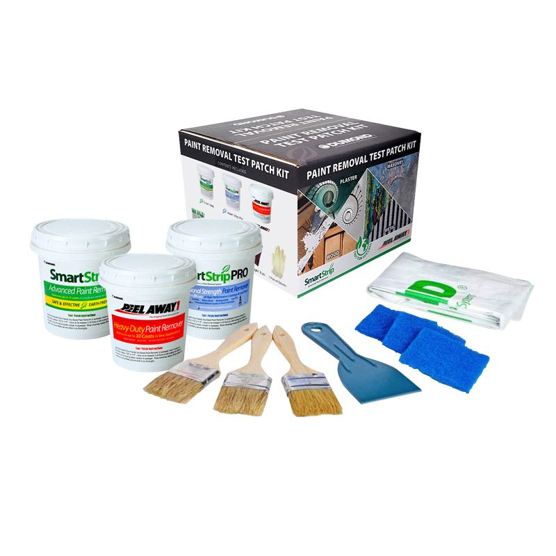 DUMOND COMPLETE PAINT REMOVAL TEST PATCH KIT