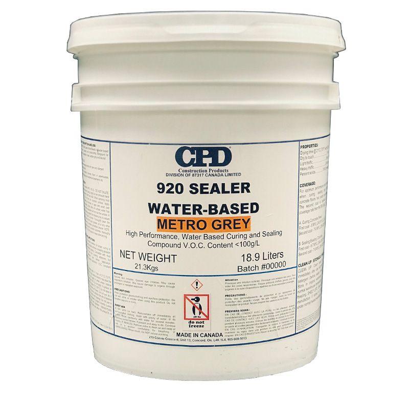 CPD 920 CONCRETE SEALER WB METRO GREY 18.9L PAIL