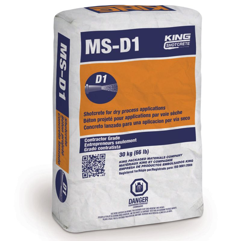 MS-D1 SY KING SHOTCRETE #1520047 30KG BAG