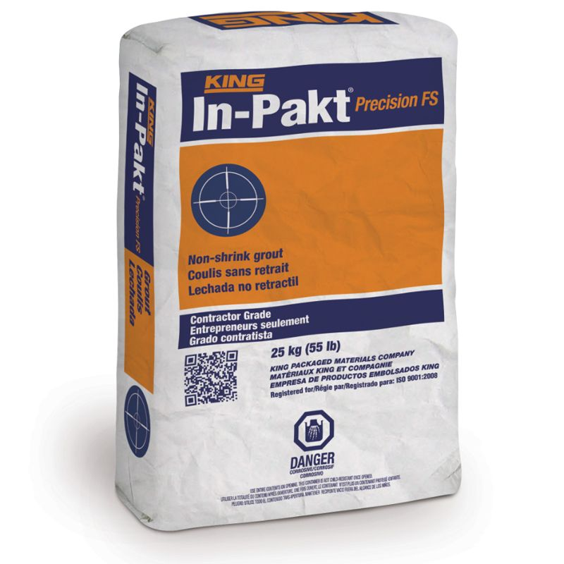IN-PAKT PRECISION FS GROUT #645354 25KG BAG N.S