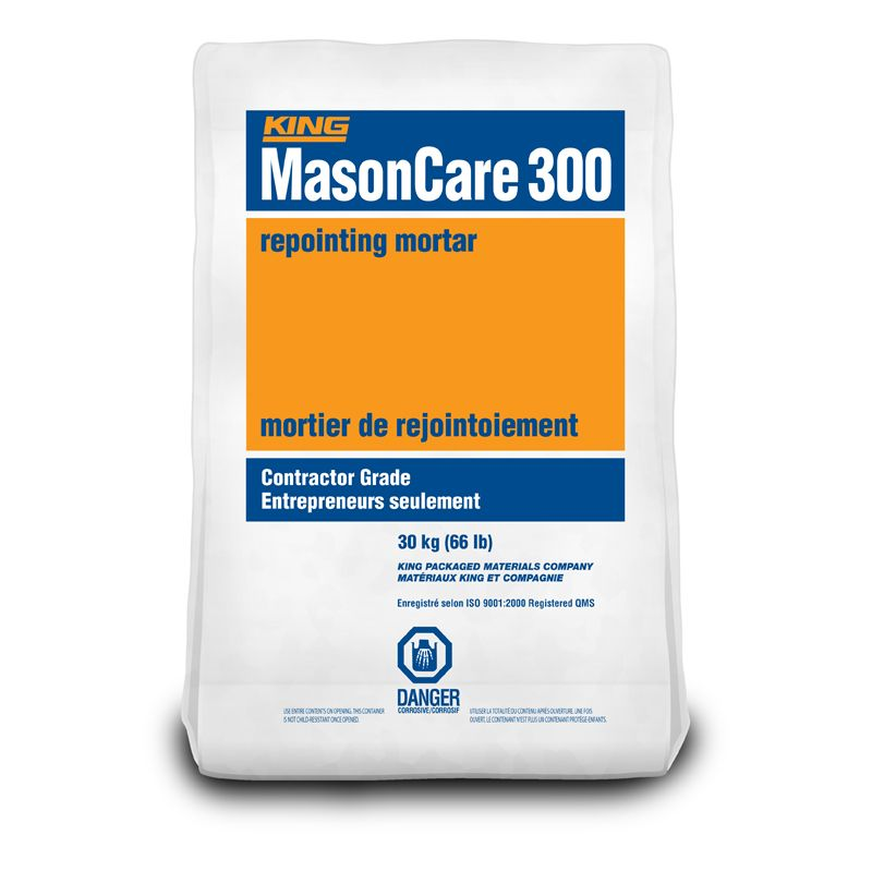 KING MASONCARE 300 WHITE C SERIES 30KG BAG