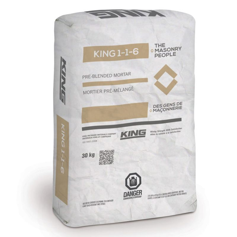 KING 116 MORTAR TYPE N COLOUR ROSE DRAGEE #2610321 30KG BAG