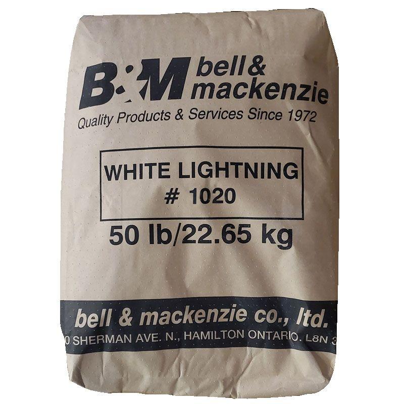 WHITE LIGHTNING 1020 MESH 50LB BAG