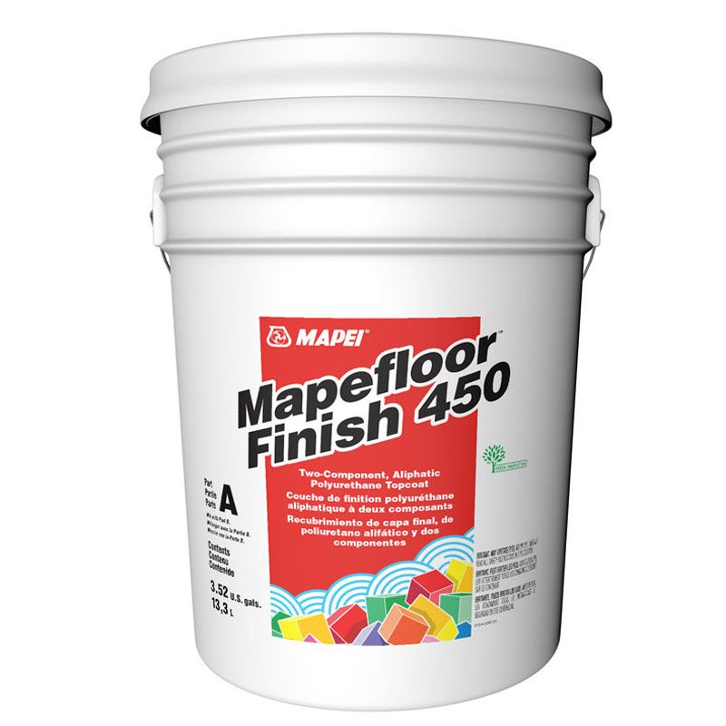 MAPEFLOOR FINISH 450 PRT A 002 MED.GREY 3.52G PAIL 6UA1515713 CALL FOR PRICING