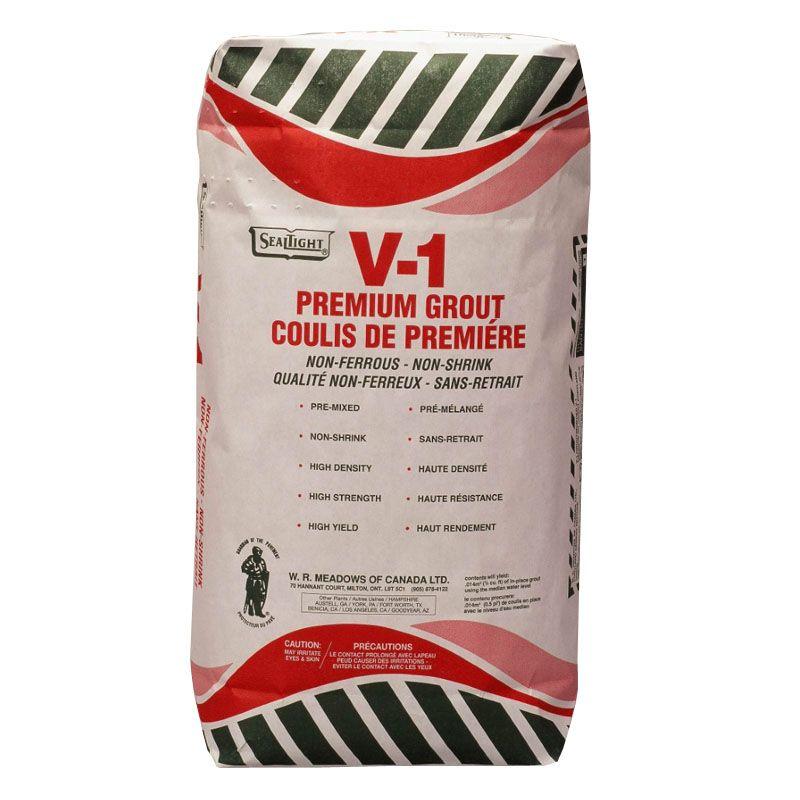 V-1 PREMIIUM GROUT 22.7KG BAG #8041050